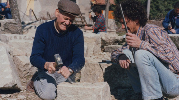 Storie di pietre e scalpellini nel Bolognese